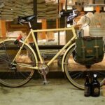 bicycling with beer carriers holders totes