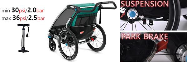 extras y conocimientos técnicos de thule chariot lite