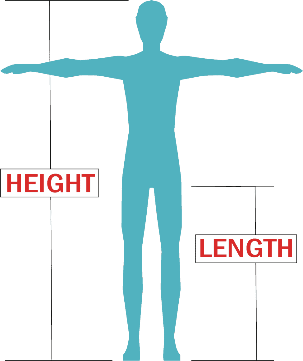 rider height anf length