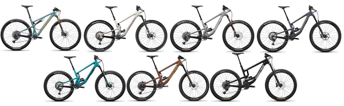 bicicletas santa cruz modelos de doble suspensión
