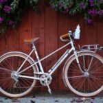 vintage style city bicycle