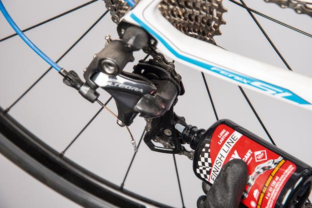 how to clean and lube your derailleurs 5