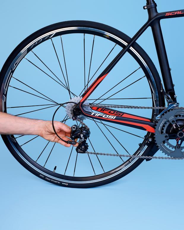 Cómo empacar un desviador de bicicleta